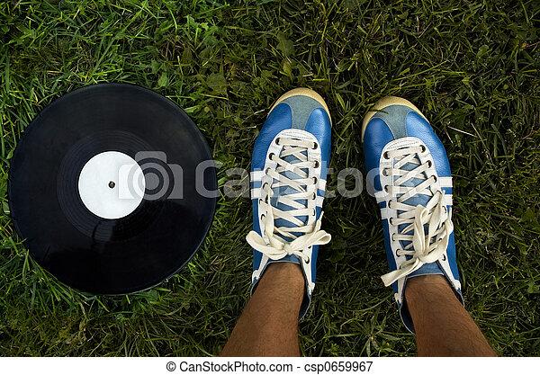 sommar, musik - csp0659967