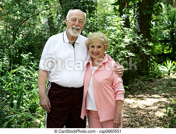 Active Senior Couple - csp0660551