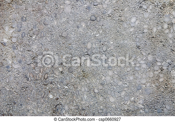 Limestone with fossil nummulites - csp0660927