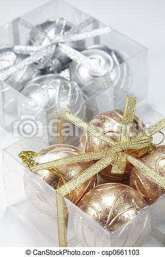 ボール, クリスマス - csp0661103