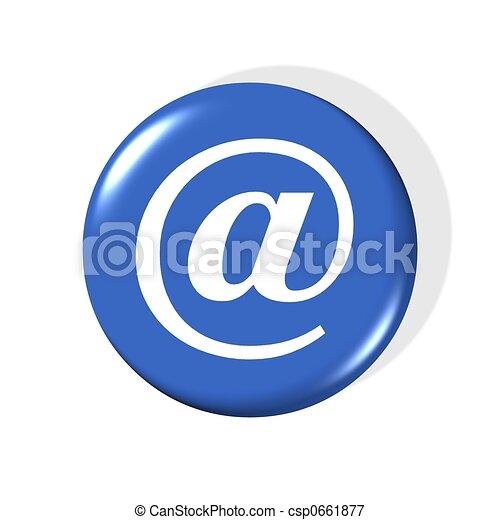 email symbol - csp0661877