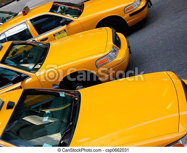 taxi cabs - csp0662031
