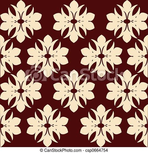 Wallpaper Pattern - csp0664754