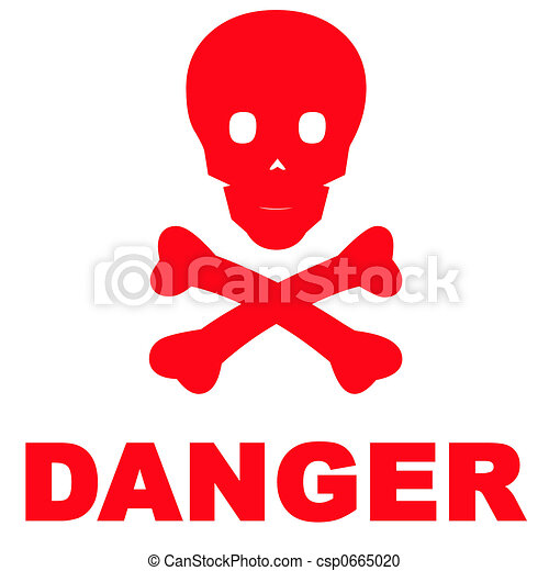 Danger Sign - csp0665020