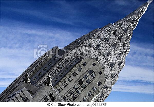 Chrysler Building - csp0666278