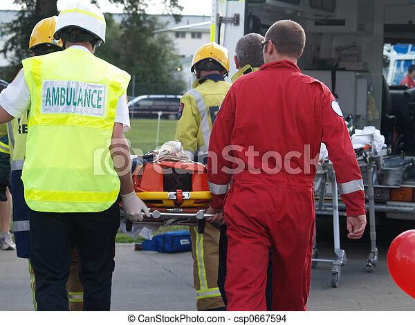 Accident Victim - csp0667594