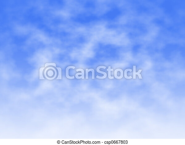 Cloud and Mist - csp0667803