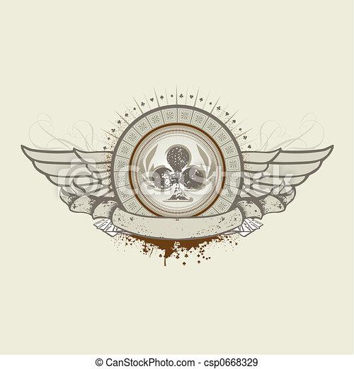 Club Suit emblem - csp0668329