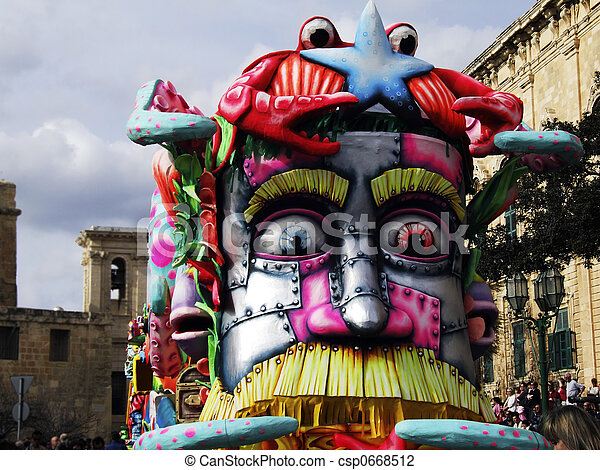 Carnival Float - csp0668512
