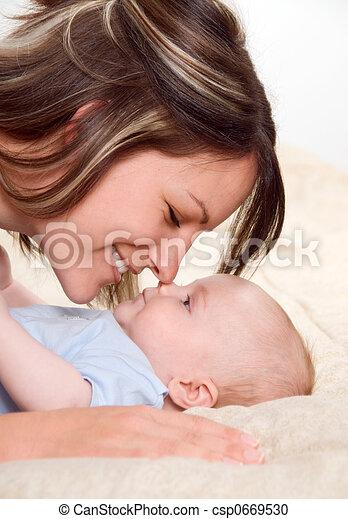 Happy mom - csp0669530
