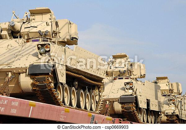 militär, sändning - csp0669903
