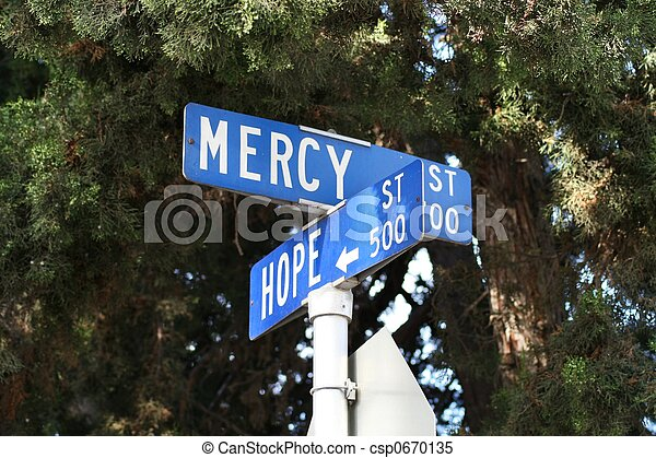 Where Hope and Mercy Intersect - csp0670135