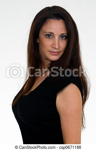 Hispanic Woman in her 30s - csp0671188