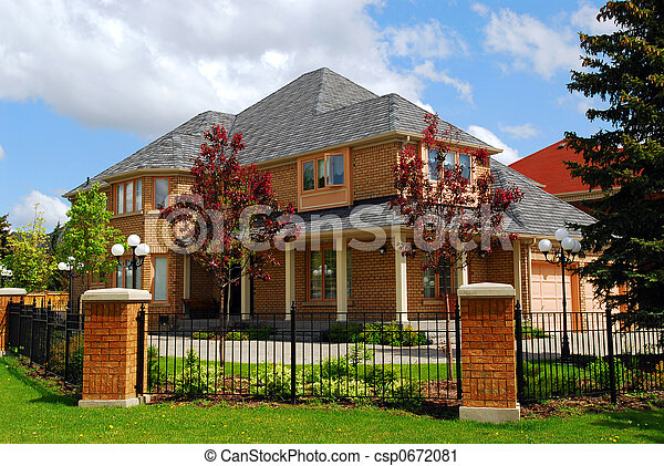 Residential home - csp0672081