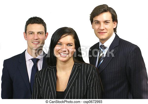 ビジネス, 人々 - csp0672993