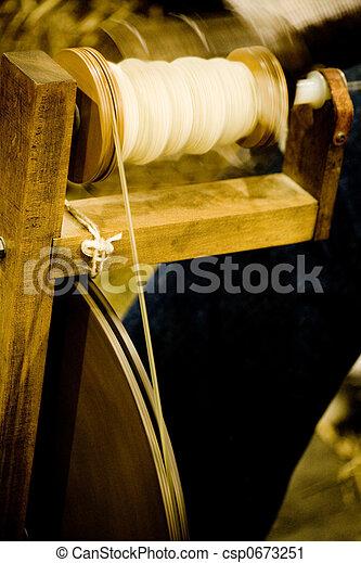 anticaglia, macchina, filatura - csp0673251