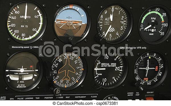 Cockpit Control Panel - csp0673381