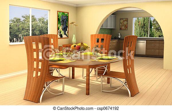 Sunny home - csp0674192
