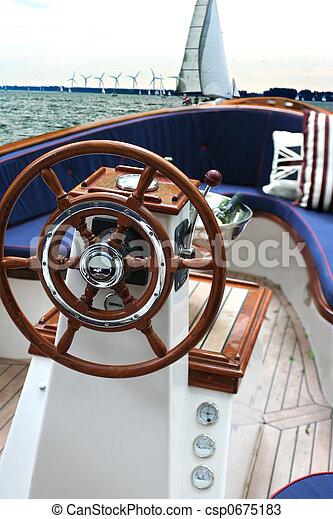 weekend yacht - csp0675183