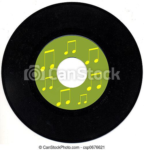 Vintage 45 rpm record - csp0676621