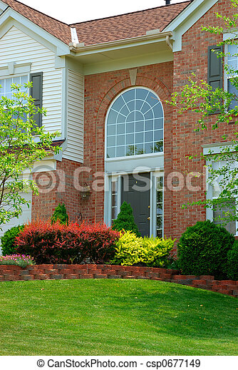 Residential Entryway - csp0677149