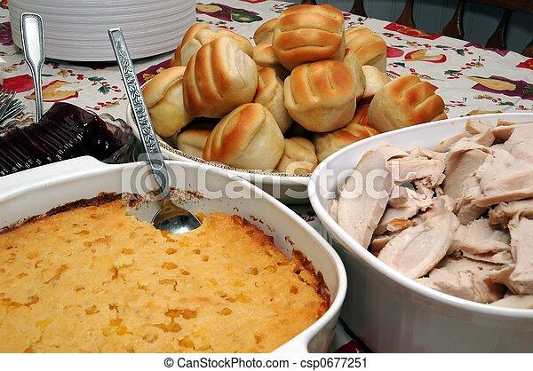 Holiday Dinner - csp0677251