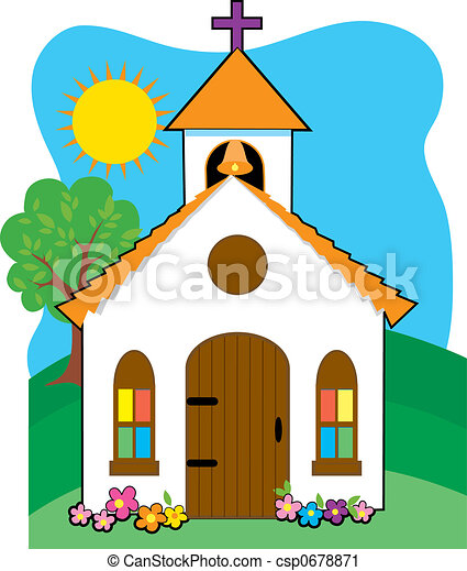 Small country church - csp0678871