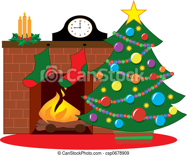 Fireplace Stock Illustrations. 11,784 Fireplace clip art images ...
