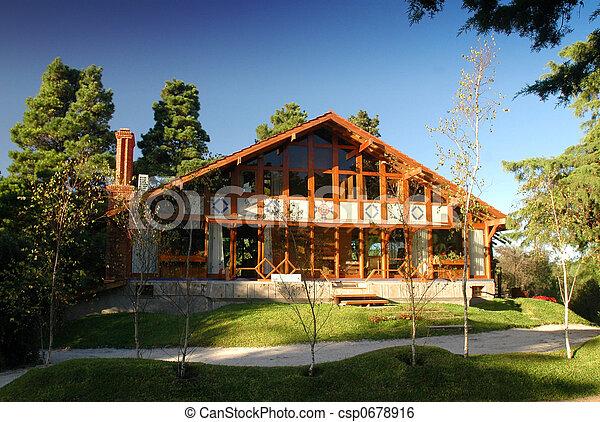 Home Exterior - csp0678916