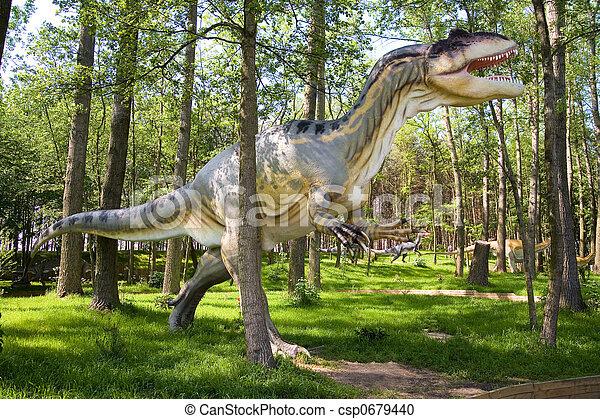 Allosaurus fragilis - csp0679440