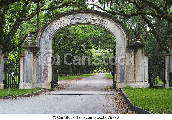 Wormsloe State Historic Site - csp0679790
