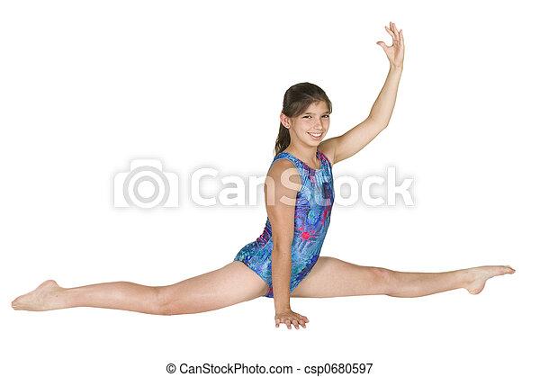 Clip de modelo de gimnasia Keiko