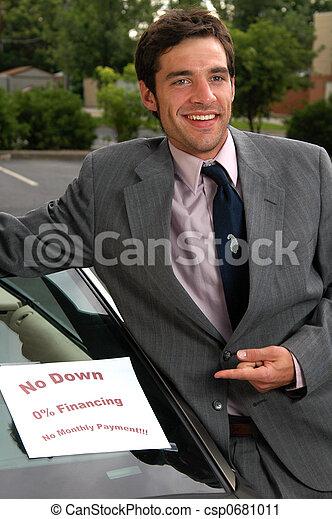 Used Car Salesman - csp0681011