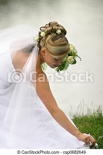 Beautiful bride - csp0682649