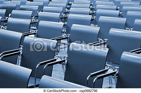Modern Congress hall - csp0682796