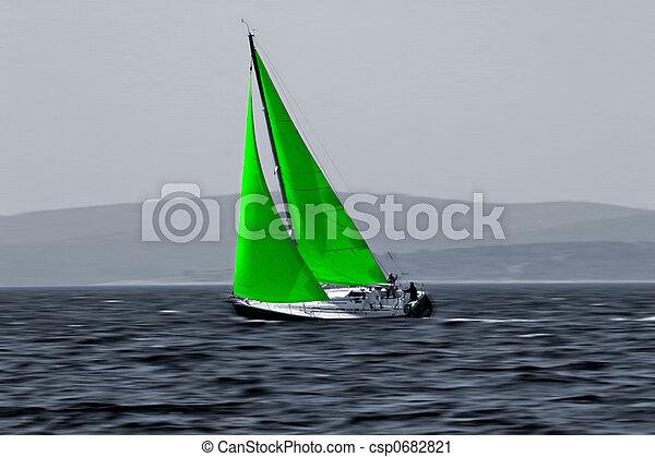 Green Wind energy eco - csp0682821