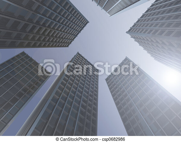 Skyscrapers - csp0682986