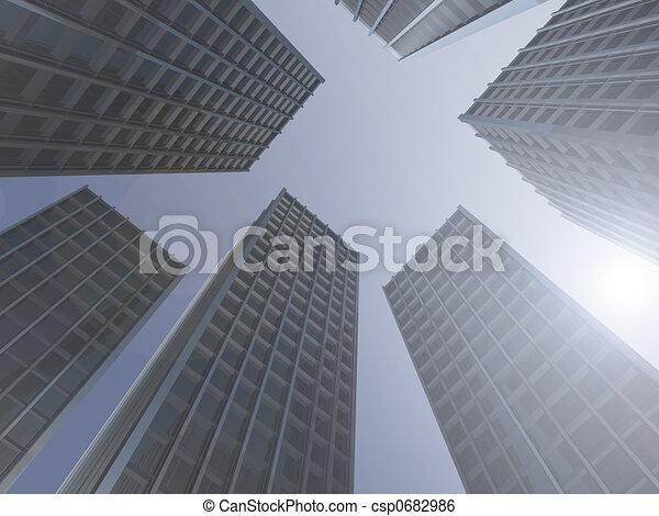 Skyscrapers - csp0682986