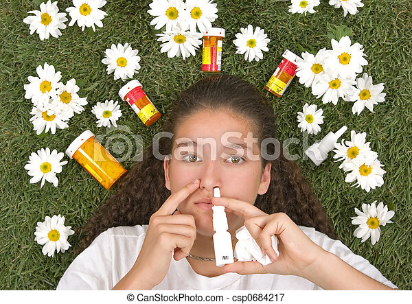 Allergy Relief - csp0684217