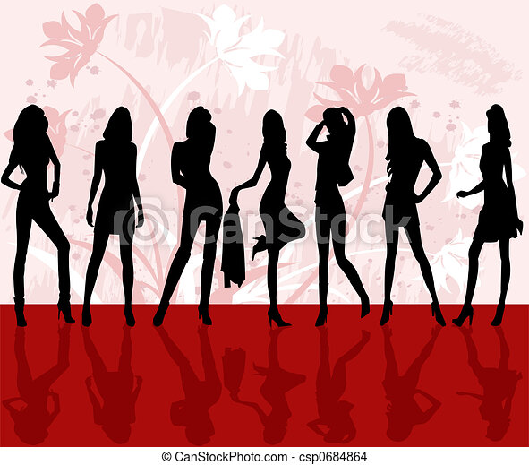 Fashion girls  - csp0684864