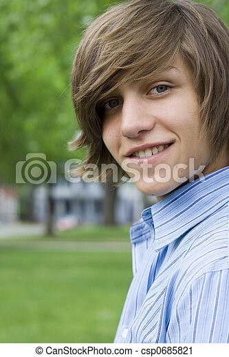 Teen Boy - csp0685821