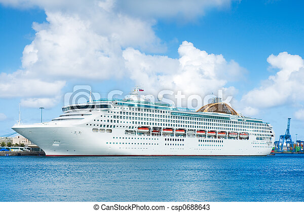 Cruise-ship - csp0688643