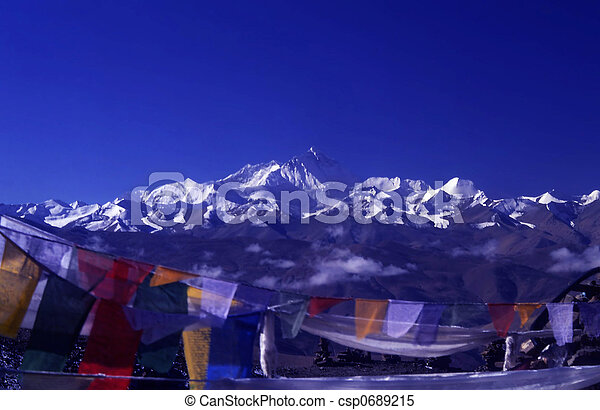 Mount Everest - csp0689215