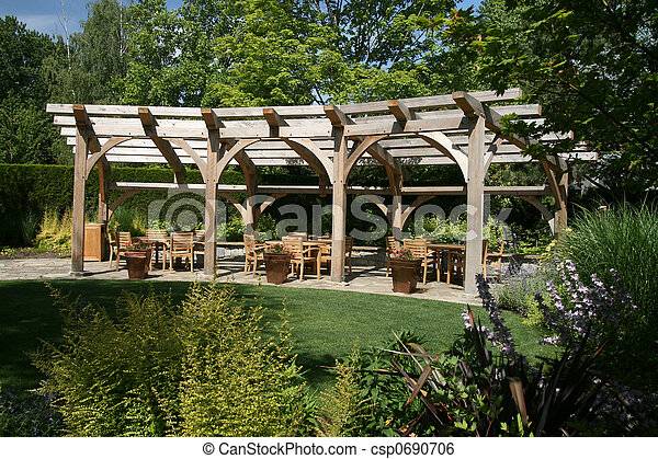 Garden Entertaining - csp0690706