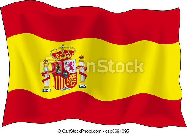 Flag of Spain - csp0691095