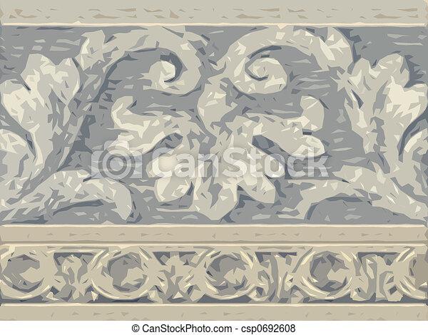 Abstract ornamental flora - csp0692608