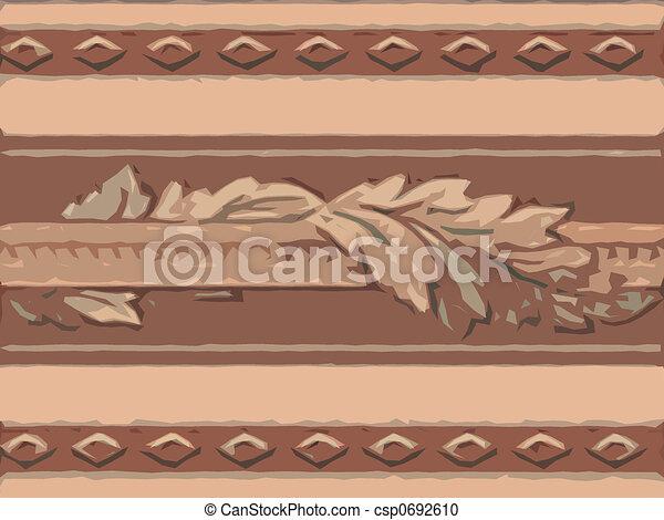 Abstract ornamental flora - csp0692610