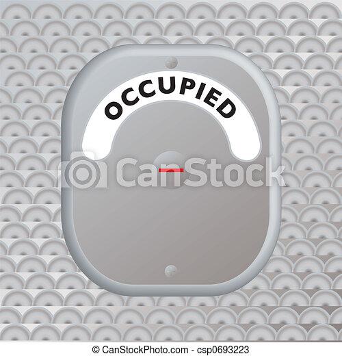 secure door occupied - csp0693223