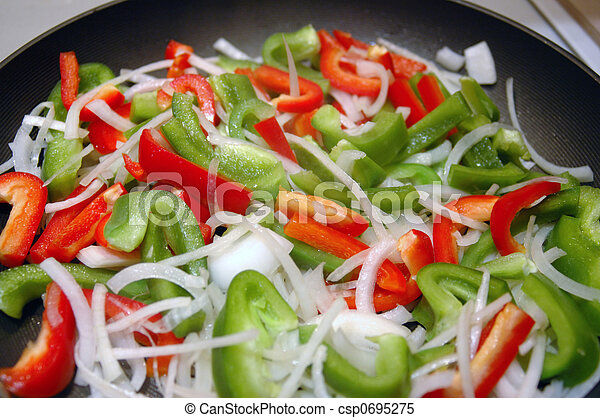 Vegetable Stir-Fry - csp0695275