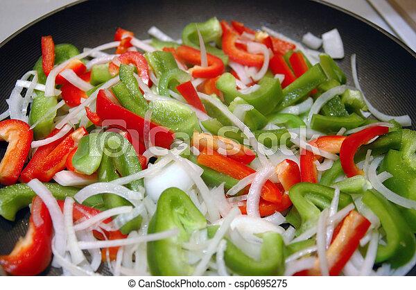 Vegetable Stir-Fry - csp0695275